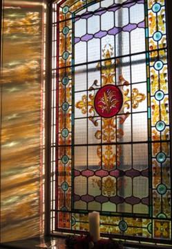 Stain Glass Church Sunny Window